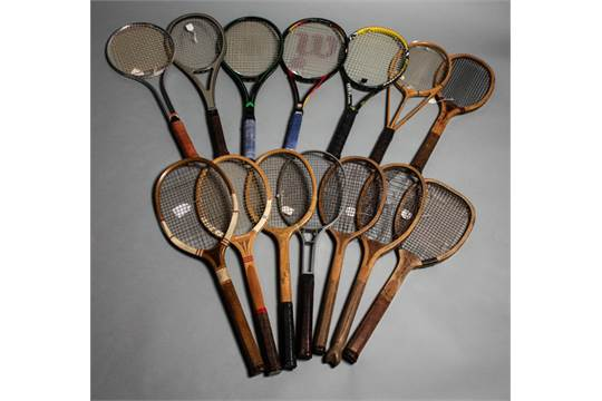 History of tennis rackets